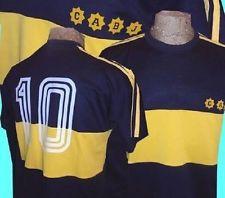 7c8a4292644 CA Boca Juniors Maradona Argentina Retro Jersey Brazil Soccer Football  Maglia